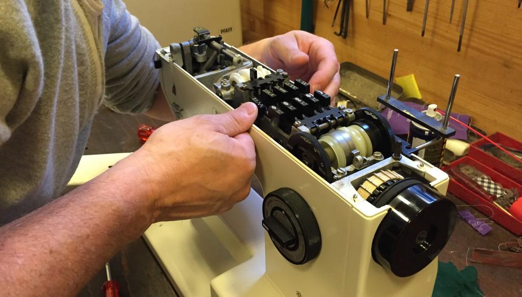 Nähmaschinen-Reparatur des Patchworkshop Zürch Stadelhofen