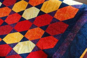 Patchwork Anfängerkurs: Ein Beispiel für ein Deckenprojekt